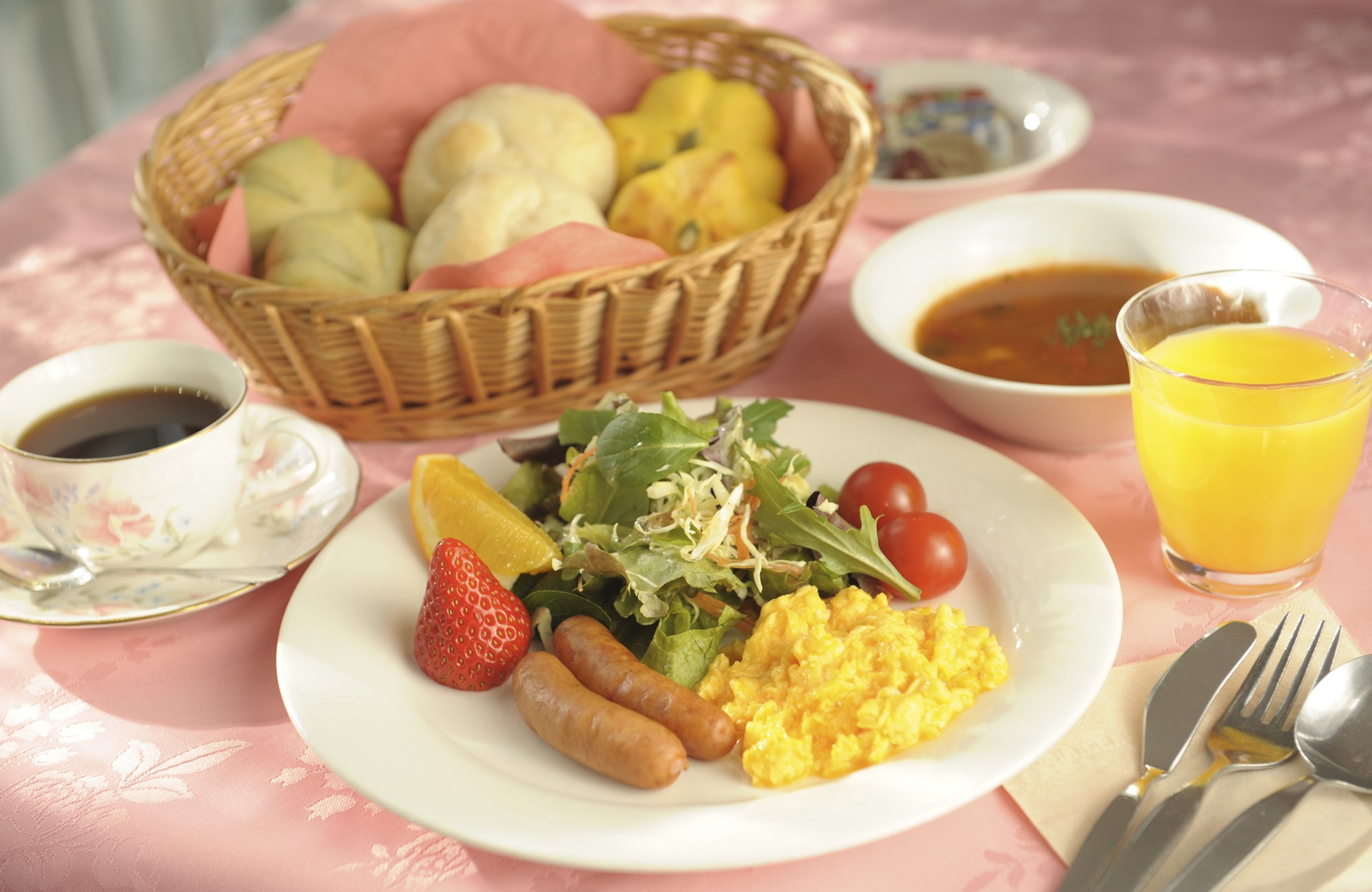 モンゴメリーブラウンin伊豆⑧朝食